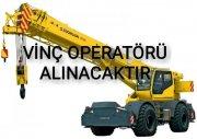 VİNÇ OPERATÖRÜ ALINACAKTIR