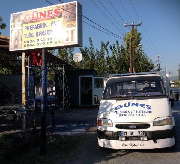 Güneş Prefabrik & Çatı Bahçe Teli & Enerji - Hatay Dörtyol