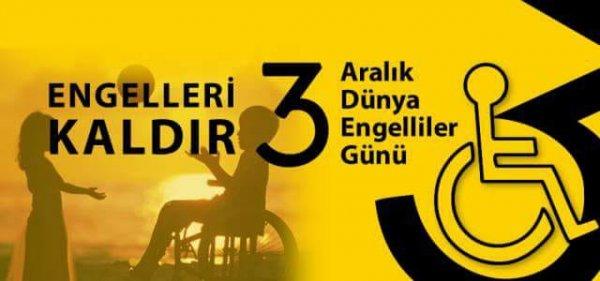 Mehmet Katırcıoğlu nun 3 Aralık Engelliler Günü Mesajı