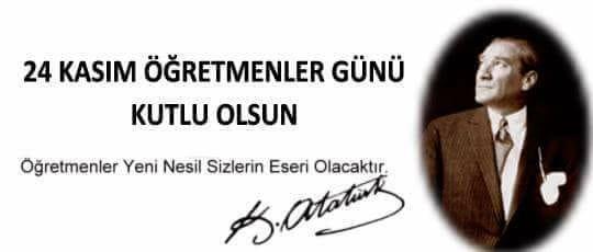 Mehmet Katırcıoğlu Öğretmenler Günü Mesajı