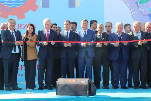 Vali Ata Erzin OSB'de Temel Attı