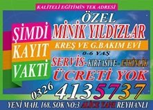 Servis Ücreti Yok - Kırtasiye Ücreti YOk- Etkinlik Ücreti YOk