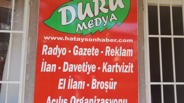Duru Medya Hatay Son Haber Gazetesi - Hatay Antakya