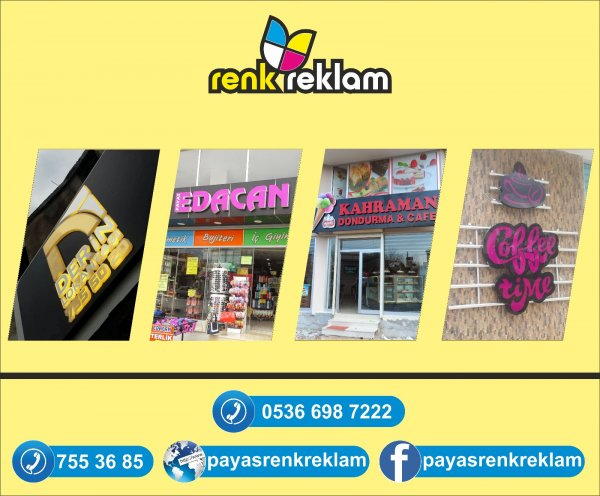 Renk Reklam - Hatay Payas