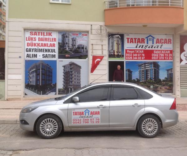 Tatar Acar İnşaat Sabri Acar Yapı İnşaat