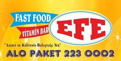 Efe Fast Food Vitamin - Hatay Defne