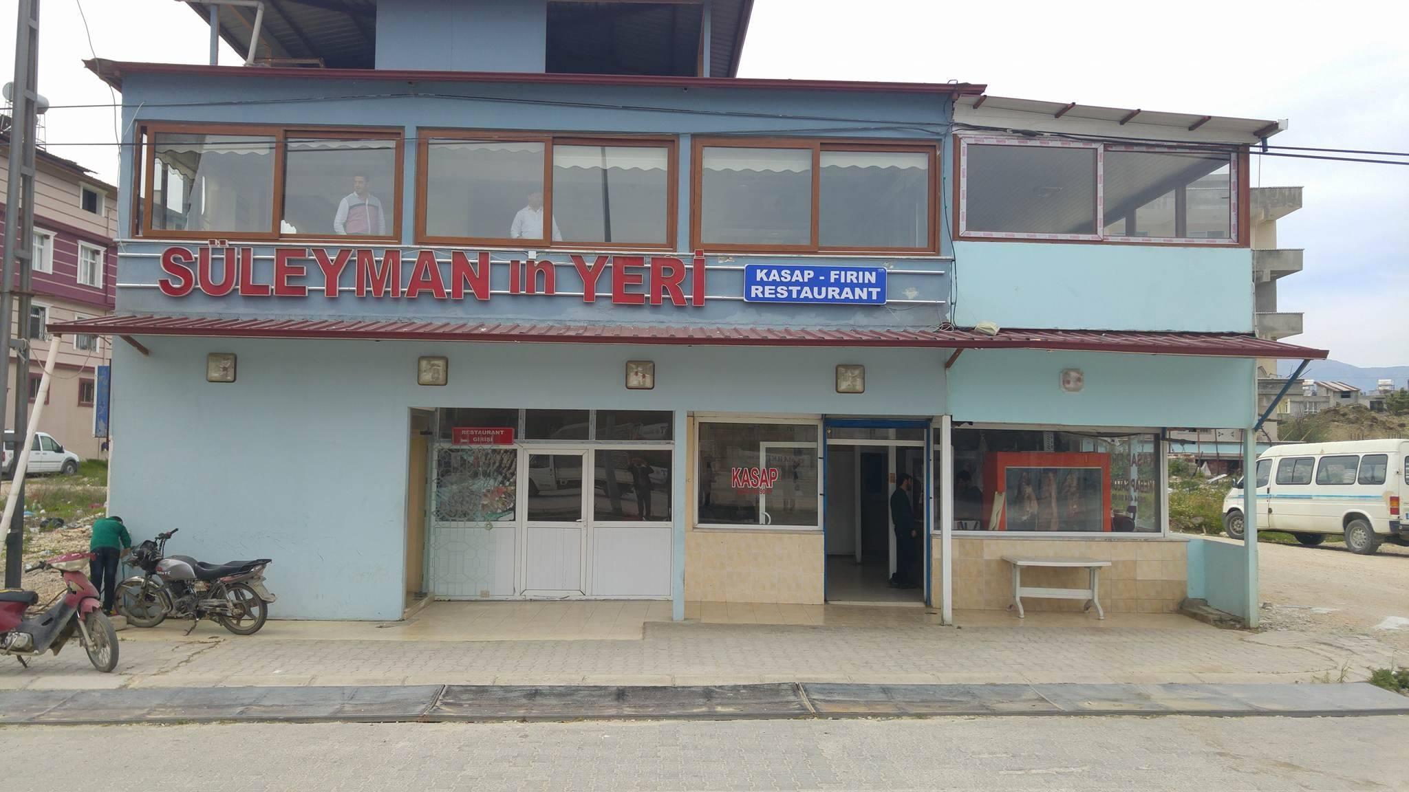 Süleymanın Yeri Kasap Fırın Ve Restaurant