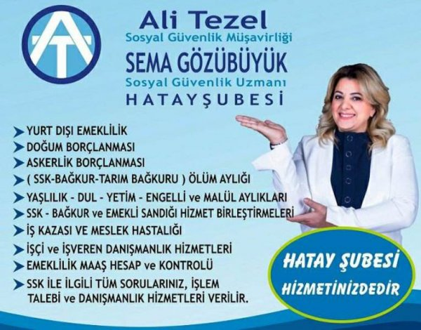 Ali Tezel Sema Gözübüyük - Hatay Antakya