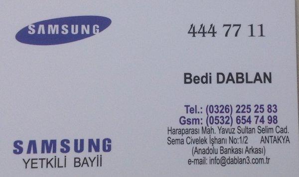 Dablan Ticaret Samsung Beyaz Eşya