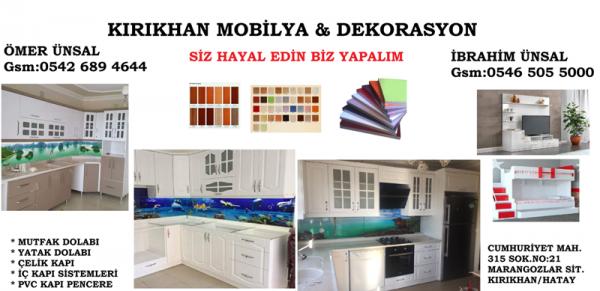 Kırıkhan Mobilya & Dekorasyon - Hatay Kırıkhan