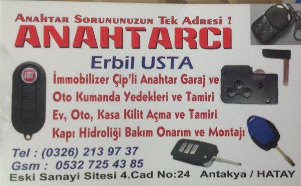 Anahtarcı Erbil Usta - Hatay Antakya